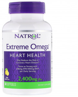 Natrol Extreme Omega 2400 мг (60 кап)