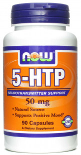 NOW 5-HTP (50 мг) (90 капсул)